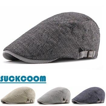 e5a644e94bca FS invierno 100% lana fieltro sombreros militares para mujeres calidad Pu  Brim Vintage visera Boina ...