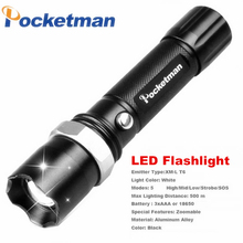 FT17 LED baterka s XM-L T6 LED 3800 Lumen