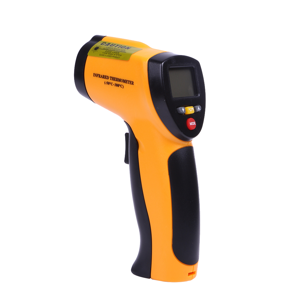GM700 IR Infrared Temperature Tester Thermometer Laser Gun 12 : 1 Non-Contact Digital LCD -50 To 700 Celsius Thermometer  цены