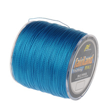 500m Braided Fishing Line 4 weaves PE braid line Zero stretch 7 Color 0.4#,0.6#,0.8#,1# – 8# available  sensitive floating braid