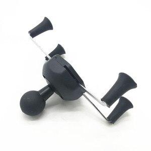 Image 4 - Suporte do berço do telefone móvel para o telefone celular universal do x grip com 1 Polegada bola para montagens de ram