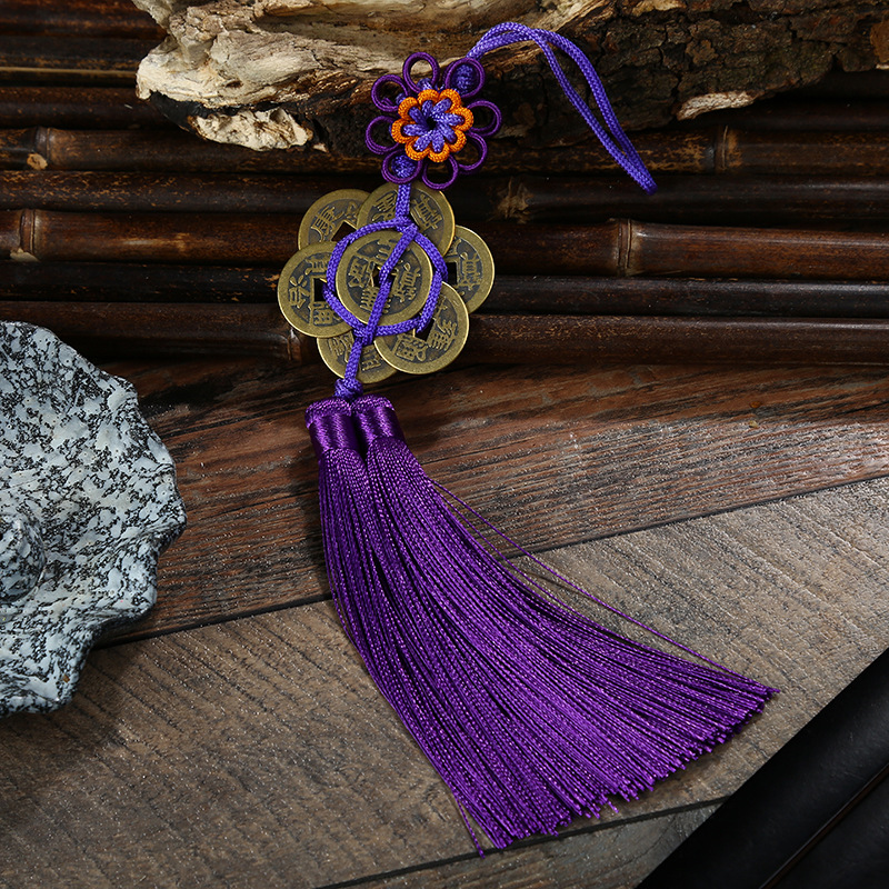 Chinese Knot Tassels Pendants 20 pcs DIY Chinese Mini Craft Chinese Knots Apparel Sewing Fabric Tassel Fringe New Year Gifts in Tassel Fringe from Home Garden