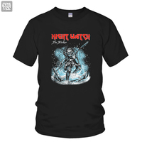 2016 New Short Sleeve T Shirts White Walker Funny Tee 100 Cotton Song Of Ice And