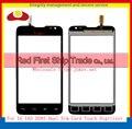 """Alta Qualidade 4.3 """"para LG L65 D285 Dual Sim Card Tela de Toque Digitador Sensor de Vidro Painel Lens Preto Faixa Branca Frete Grátis"""