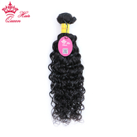 Queen Hair Water Wave Bundles Peruvian Hair Weave Bundles 1 pc Can Buy 3 / 4 Bundle Human Hair Bundles remy Hair extensions
