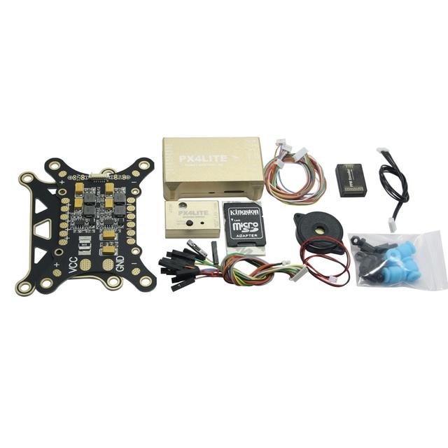 PX4LITE Pixhawk Lite 32Bit Activo Kit Estándar Regulador de Vuelo para Multicopter de Quadcopter