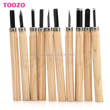 Knife Chisels Diy-Tool Hand Wood-Carving Working Basic-Woodcut for Drop-Ship 10pcs-Set
