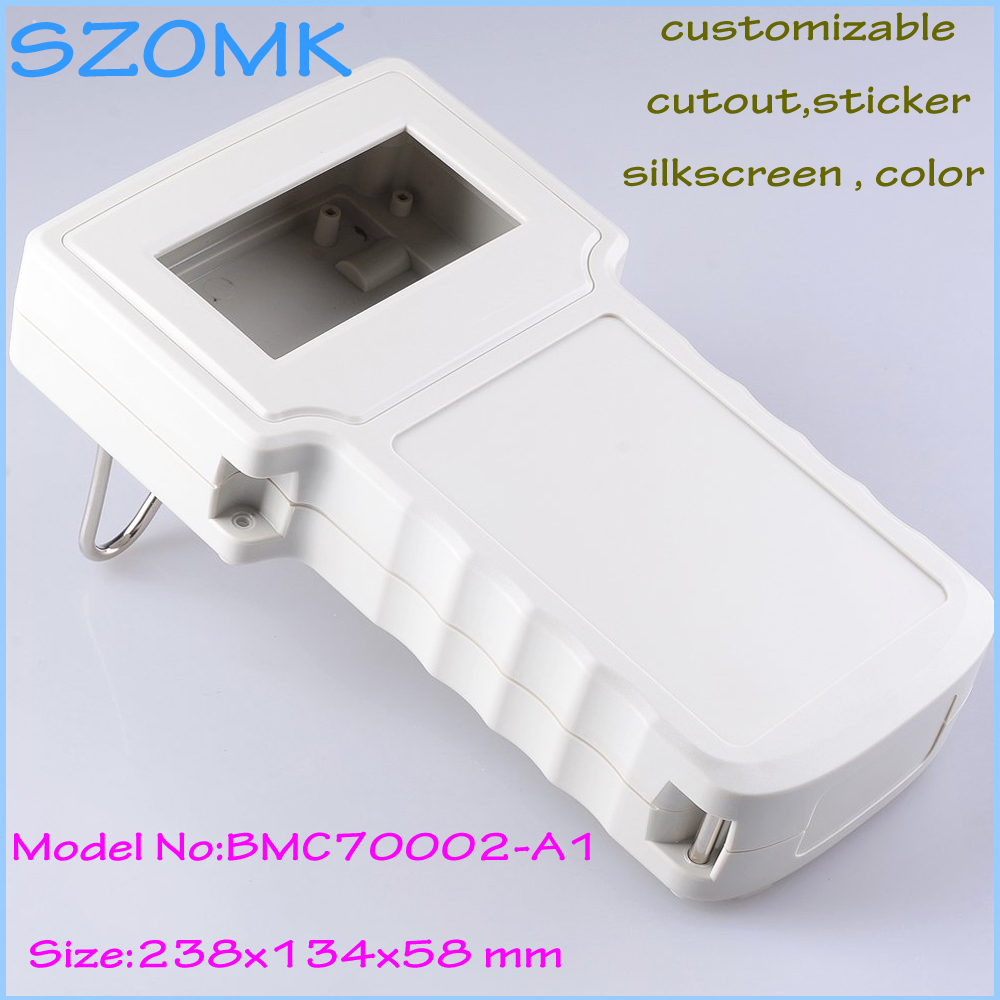цены 4pcs/lot plastic box for electronic project plastic enclosure abs junction box for electronics 238*134*58MM