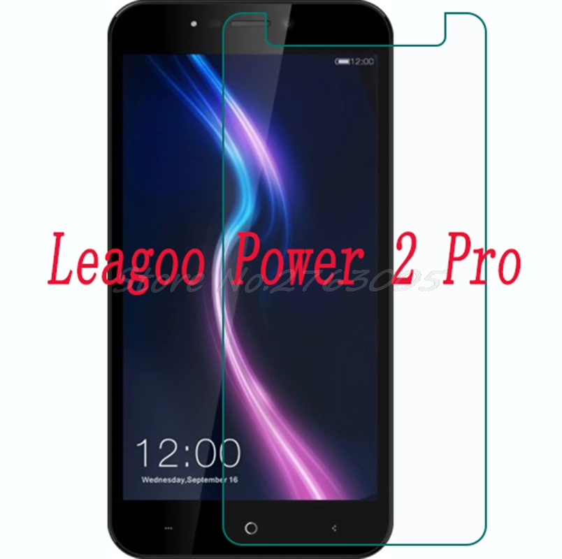 Smartphone Tempered Glass  for  Leagoo Power 2 Pro  2PRO 5.2   Explosion-proof Protective Film Screen Protector coverSmartphone Tempered Glass  for  Leagoo Power 2 Pro  2PRO 5.2   Explosion-proof Protective Film Screen Protector cover
