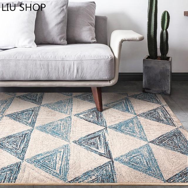 LIU Nordic geometria tappeto moderno tappeto in stile classico ...
