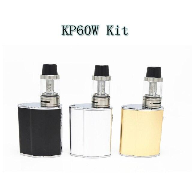 100% Original Electronic Cigarette mini 60w Mod e cigarette 0.2ohm-5.0ohm kp 60w Temperature Control ecigarette with 510 thread