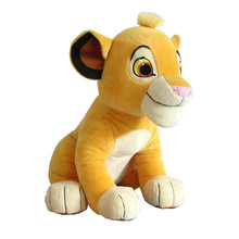 26cm High Quality Sitting Simba The Lion King Plush Toy Animal Soft Stuffed Simba Dolls For Children Gift