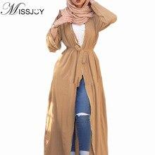 Nowa sukienka abaja z dubaju muzułmańska szata Burqa Kuftan pakistańskie sukienki kobiety marokański kaftan turecki sweter długi arabski odzież