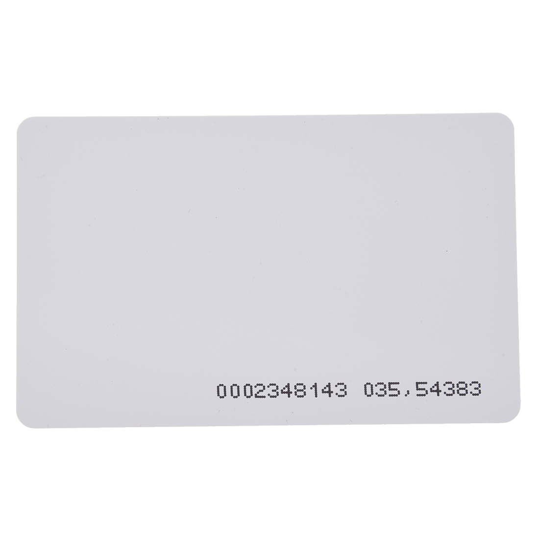 125khz em4100 door entry access blank white proximity rfid clamshell thick card thickness 1 9mm pack of 10 Wholesale 125Khz Door Entry Access Proximity RFID Card Wht 10 Pcs