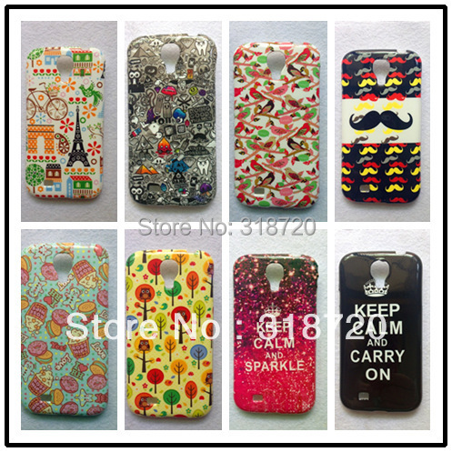Samsung Galaxy S4 I9500 TPU Back cover case cartoon animation soft rubber silicone animal covers BH0109 - Shenzhen HBT Trading co., Ltd store