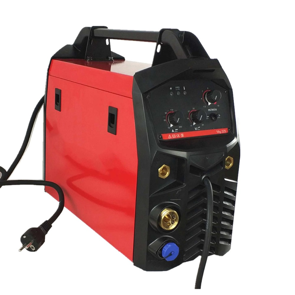 MIG Welding Machine 225A 3in1 Multifunction Welding Equipment MMA/Stick MIG/MAG Spool Gun 15AK Torch IGBT Inverter Machine