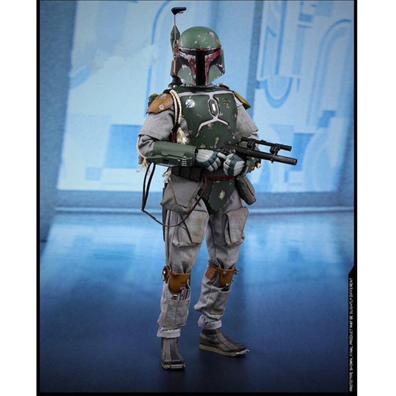 30 CM jouets chauds Star Wars 1/6 chasseur de primes Boba Fett MMS463 PVC figurine d'action Collection modèle décoration X97