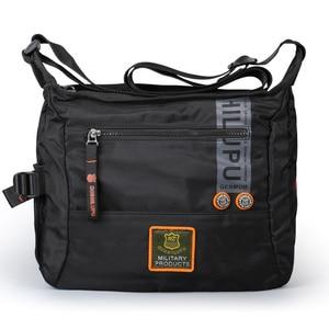 Image 2 - 2020 Men Messenger Multifunction Bags fashion Cross crossbody bag Leisure oxford cloth casual travel men messenger bag Toolkit