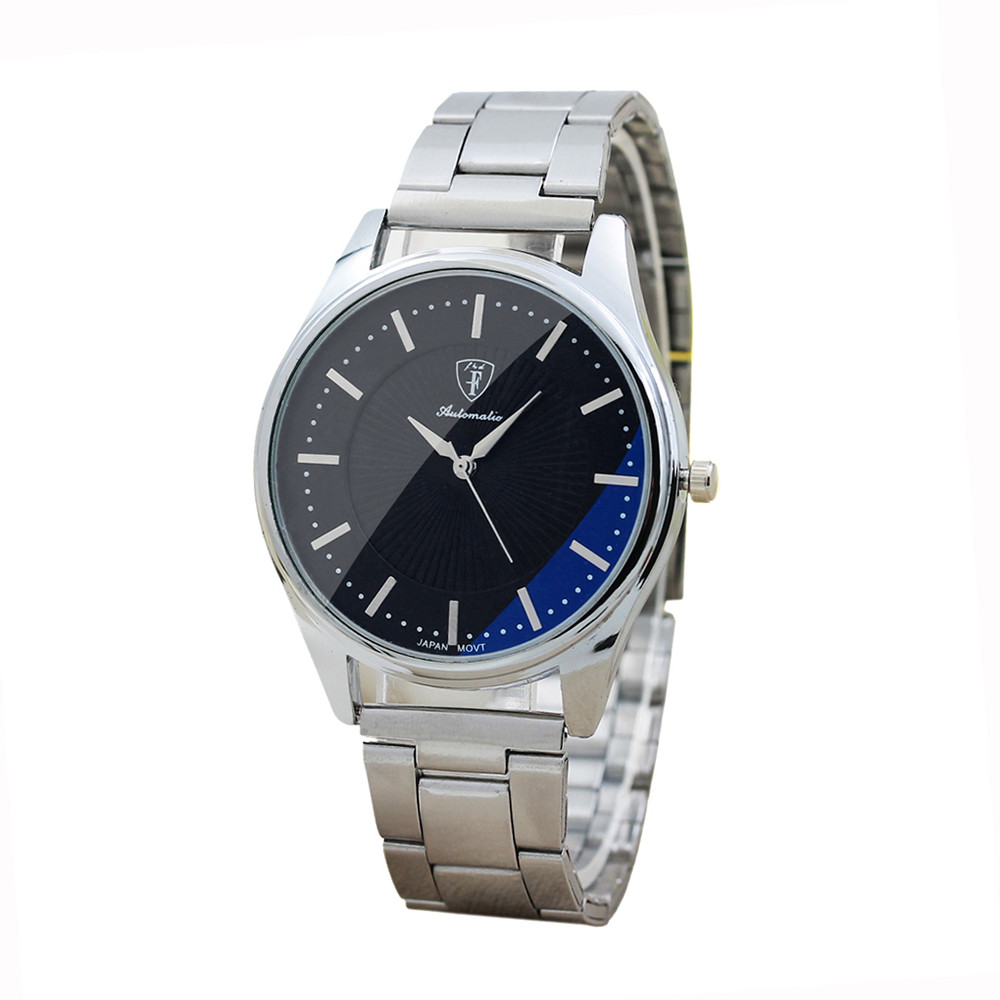 Brand Men's Watches Stainless Steel Sport Quartz Hour Wrist Analog Watch Luxury Male Hour Watches Clock Relogios Masculino golden silver transparent hollow dial quartz men wrist watch stainless steel band casual sport watches man analog male clock gif