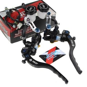 High Quality 9/16x18mm Motorcycle Brake Master Cylinder Hydraulic Clutch Lever 22mm For Honda Yamaha Kawasaki Suzuki Ktm Ducati