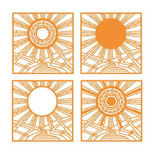 Eastshape 140*140mm Sunshine Background Dies Scrapbooking Sun Frame for Card Making Craft Metal Cutting Embossing New 2019