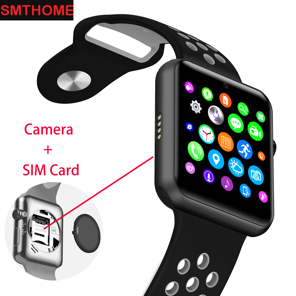 New Bluetooth Watch DM09 Plus GSM Watch Phone SIM Smart Watch Pedometer Sleep Tracker Sports Wristwatch for Iphone Android Phone швейная машина brother innov is nv 97e белый цветы