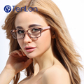 TenLon Glasses high quality glasses frame men oculos de grau Fashion computer goggles frames eyeglasses for women with case