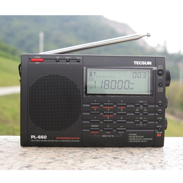 Радиоприемник TECSUN PL-660, FM/LW/MV/SW/SSB/AIR PLL