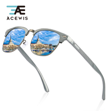 ACEWIS Men Vintage Aluminium Magnesium Alloy Polarized Sunglasses Classic Coating Lens Driving Shades For 04X free shipping