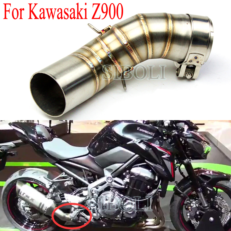 Full System Exhaust For Kawasaki Z900 2017 2018 2019 Motorcycle