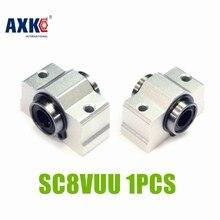 Axk 8 мм Подшипник Втулка Sc8v Sc8vuu Scv8uu линейный блок для вала