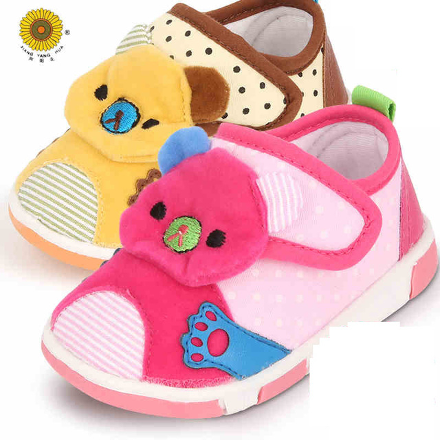 Newborn Lovely Soft Bottom Lace-Up Shallow First Walkers Cotton Solid Spring/Autumn Cotton Fabric Baby Mocassins Soft Baby Shoes