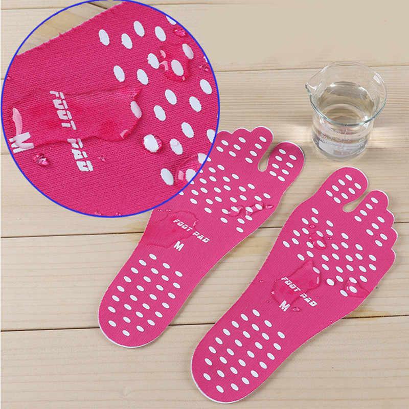 Hot 1 Paar Voet Stickers Schoenen Stok op Zolen Sticky Pads Waterdicht Hypoallergeen Adhesive Voeten Pad Voetverzorging voor Voeten