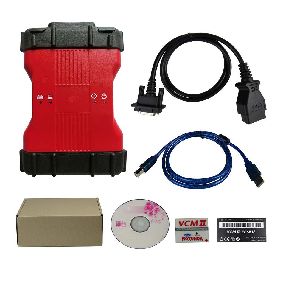 2020 najnowszy VCM II V101 wersja f-ord VCM 2 narzędzie diagnostyczne do samochodów wsparcie pojazdów IDS VCM2 skaner diagnostyczny OBD2