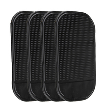 New  4PCs Black Magic Sticky Pad Anti Slip Mat Car Dashboard for Cell Phone ME3L