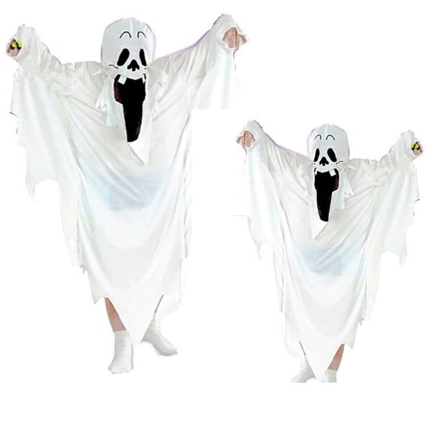 Neue Ankunft Unisex Kinder Halloween Kostüm Geist Cosplay Gedruckt