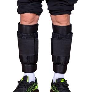 Image 1 - 新しい調節可能な足首重量サポートブレースストラップ肥厚脚筋力トレーニングショックガードジムフィットネスギア1 6キロのみストラップ