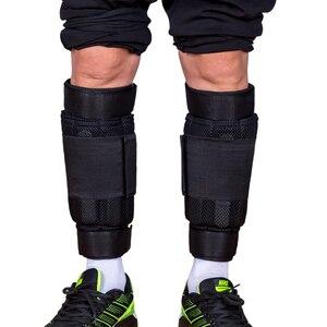 Image 1 - Nowa regulowana waga kostki wsparcie pasek ochronny pogrubienie nogi trening siłowy Shock Guard siłownia Gear 1 6kg tylko pasek