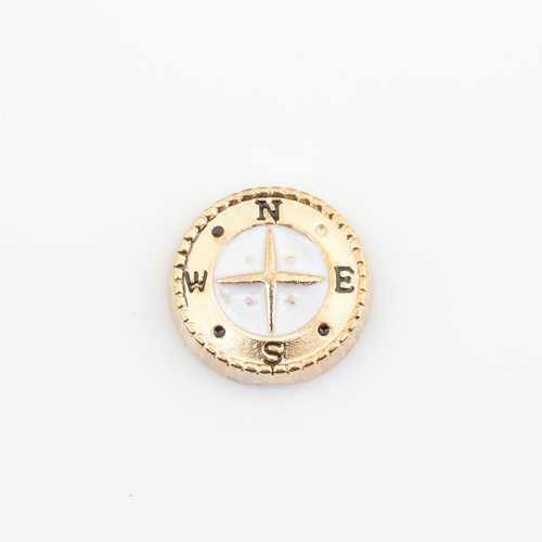 Compass, Floating charms,Fit floating charm lockets, FC1034