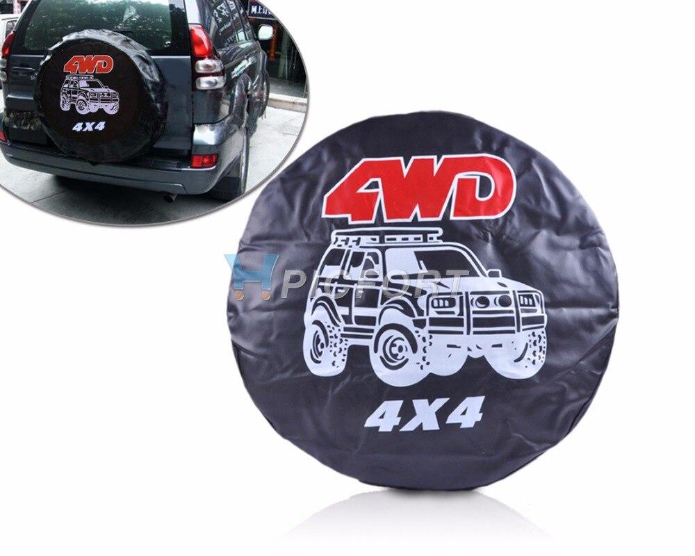 DWCX Size S 4WD Spare Wheel Tire Tyre Soft Cover 27 for Hyundai Kia VW Golf Nissan Qashqai Chevrolet cruze BMW E46 E90 Lada 4X4