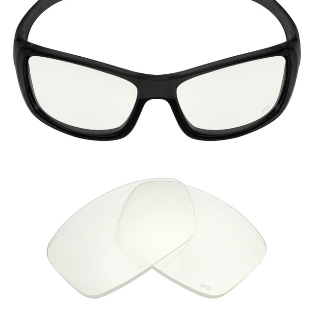 a31b22b9944 Mryok+ Resist SeaWater Replacement Lenses for Oakley Hijinx Sunglasses HD  Clear