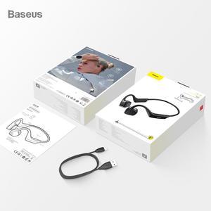 Image 5 - Baseus Bluetooth 5.0 oreillettes de Conduction osseuse sans fil Bluetooth casque sport stéréo mains libres casque pour iPhone Xiaomi Pad