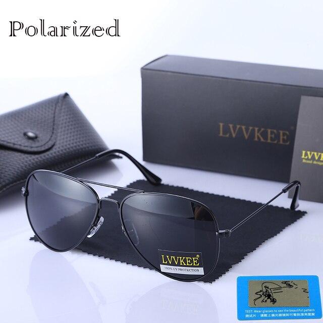 Top quality 100% aviação óculos de sol polarizados óculos de sol dos homens  clássico 8 3912897079