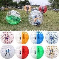 Бесплатная доставка бампер мяч 0,8 мм 1,7 м ПВХ Материал пузырь футбольный мяч Blow Up игрушка, надувные бампер шары