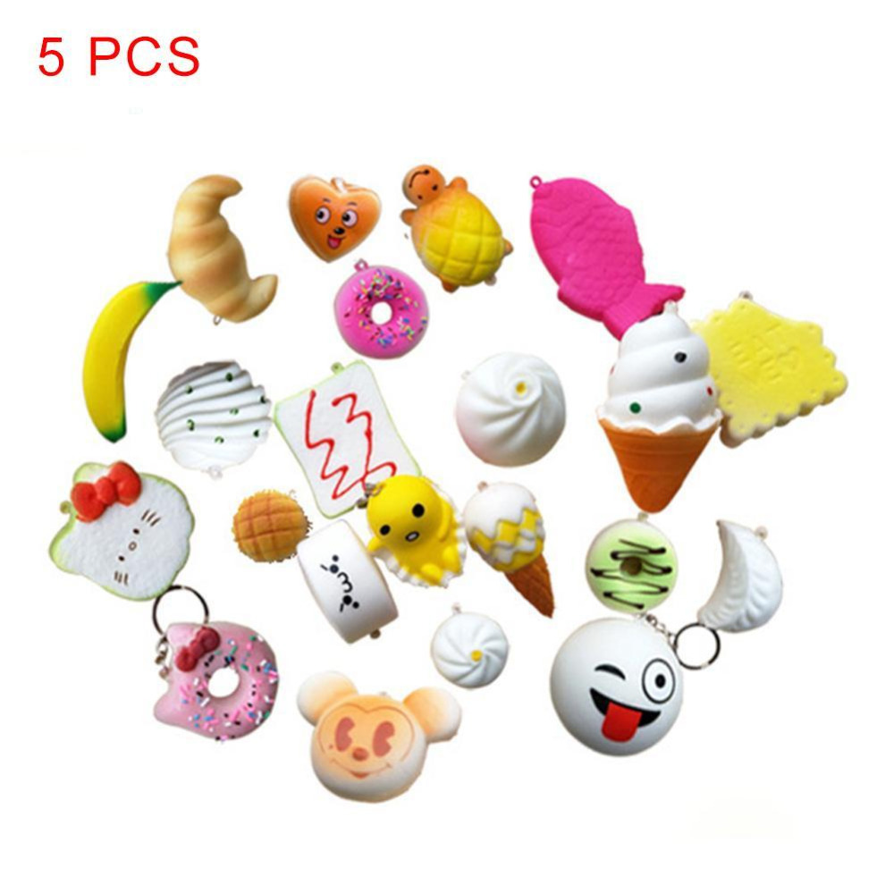 Cellphones & Telecommunications Good Hot 5 Pcs/lot Mobile Phone Straps Squishy Cute Soft Panda/bread/donut Phone Keychain For Phone Decor Break Cake Toys