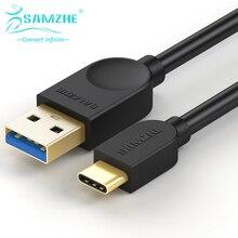 SAMZHE 5 5gbps の Usb 3.0 ケーブル A オスタイプ C オスケーブル充電器ネクサス電話 Oneplus 2 macbook データ USB ケーブル