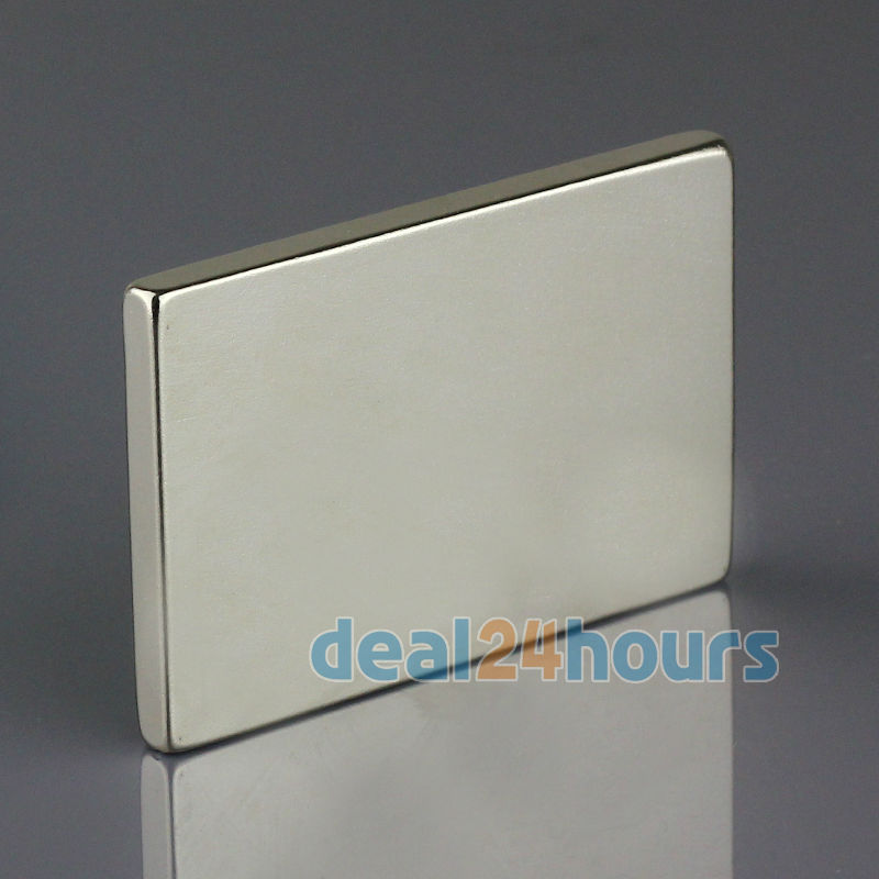 OMO Magnetics 5pcs Big Bulk Super Strong Strip Block Magnets Rare Earth Neodymium 60 x 40 x 5 mm N35 Wholesale omo magnetics 10pcs big bulk super strong cuboid block magnets rare earth neodymium 50 x 50 x 5 mm n35 wholesale