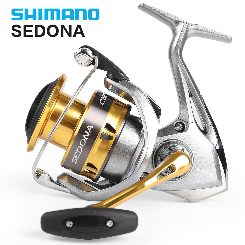 Shimano SEDONA 1000 2000HGS 2500HG Originais 2500 S 3000 4000 C5000XG 6000 Molinete De Pesca Profunda Copo 4BB Hagane Engrenagem