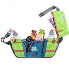 AONIJIE Multifunction Sport Water Bottle Waist Bag Women/Men Outdoor Marathon Running Nylon Money Phone Pack