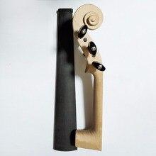 5 струн Stradivarius 4/4 клен Белый Скрипка шеи+ черное дерево гриф гайка колышки